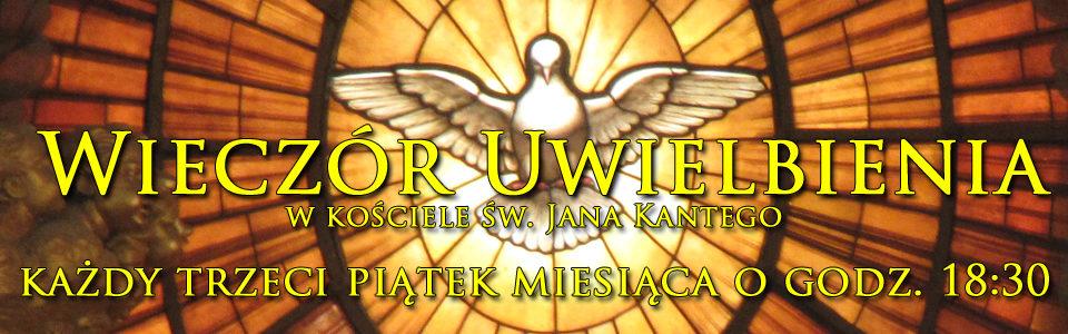 Wieczór uwielbienia w parafii Jana Kantego w Warszawie